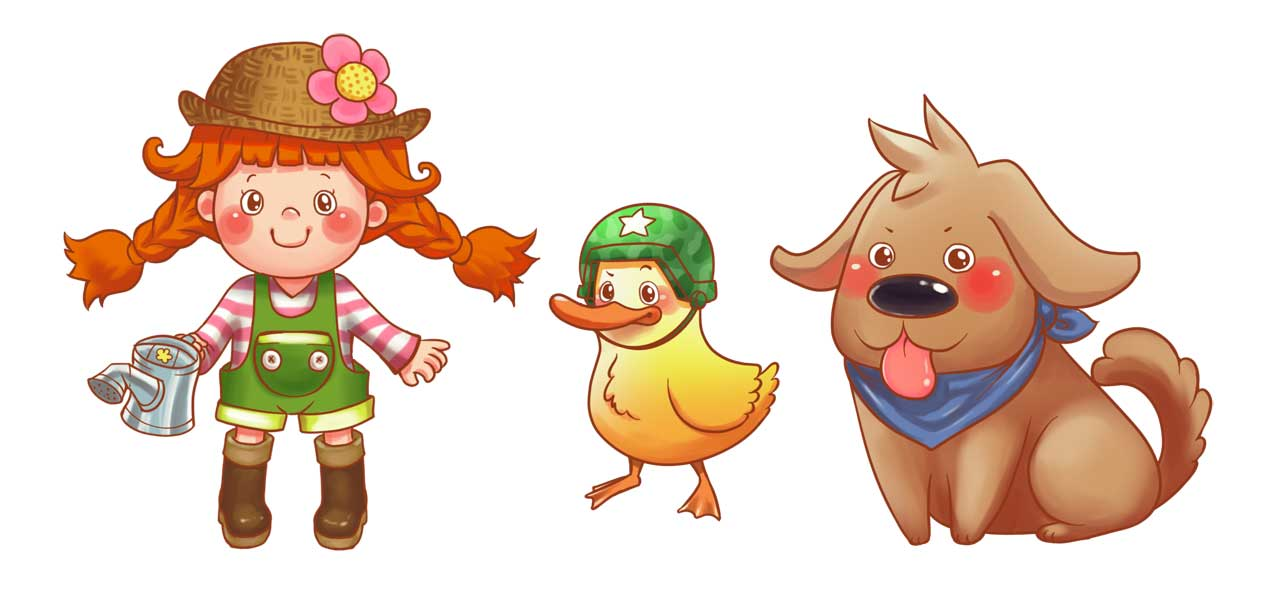 Character and Mascot Design