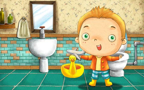 Potty Training Children Education App and Game